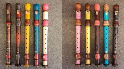 Küng farbige Studio-Flöten